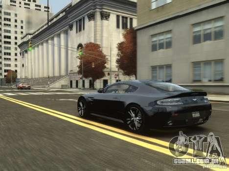 Aston Martin V12 Vantage 2010 V.2.0 para GTA 4 vista de volta