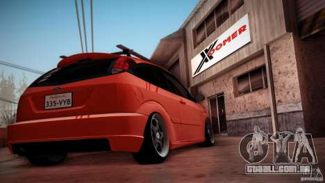 Ford Focus SVT Clean para vista lateral GTA San Andreas