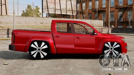 Volkswagen Amarok 2.0 TDi AWD Trendline 2012 para GTA 4 esquerda vista