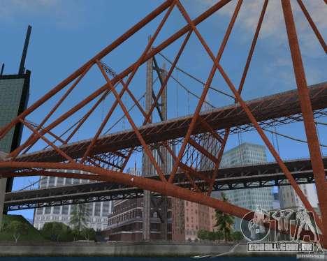 Novas texturas de três pontes em SF para GTA San Andreas décimo tela