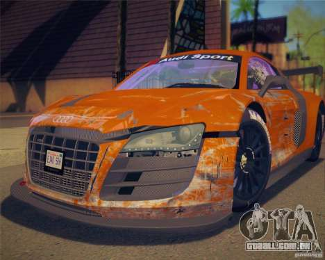 GTA IV Scratches Style para GTA San Andreas terceira tela