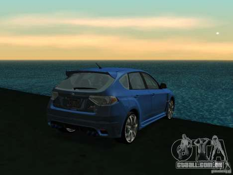 GFX Mod para GTA San Andreas quinto tela