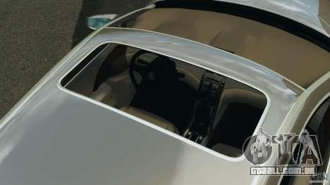 Honda Acura RL para GTA 4 vista inferior