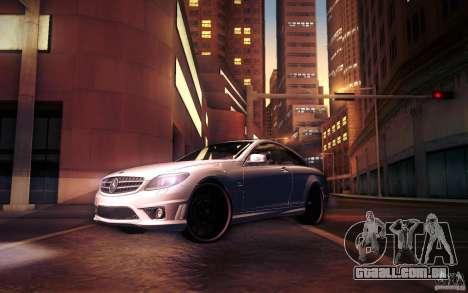 Mercedes Benz CL65 AMG para as rodas de GTA San Andreas
