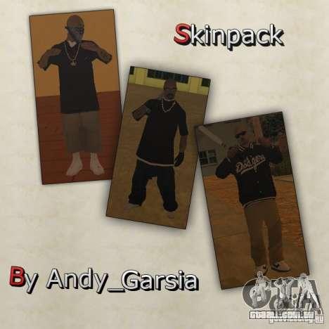 Aztecas Skins para GTA San Andreas