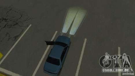 Faróis de halogéneo para GTA San Andreas sexta tela