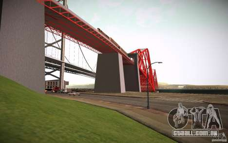 HD Red Bridge para GTA San Andreas