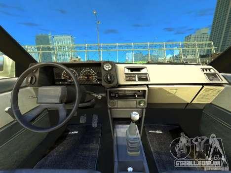 Toyota Corolla AE86 EPM v3.0 para GTA 4 vista de volta