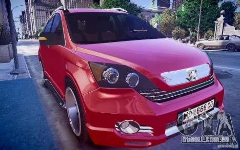 Honda CR-V Light Tuning para GTA 4 vista direita