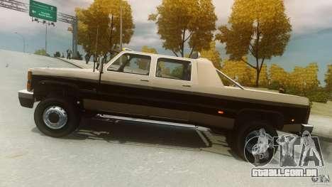 Declasse Yosemite Dually para GTA 4 esquerda vista