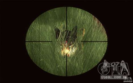 Wild Life Mod 0.1b para GTA San Andreas sexta tela