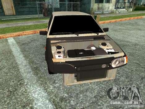 ВАЗ 2114 Hobo para GTA San Andreas traseira esquerda vista