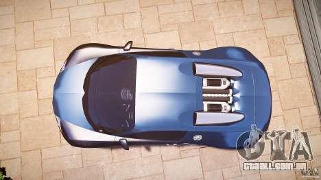 Bugatti Veyron 16.4 v3.0 2005 [EPM] Strasbourg para GTA 4 vista direita