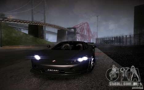 SA Illusion-S V1.0 Single Edition para GTA San Andreas por diante tela