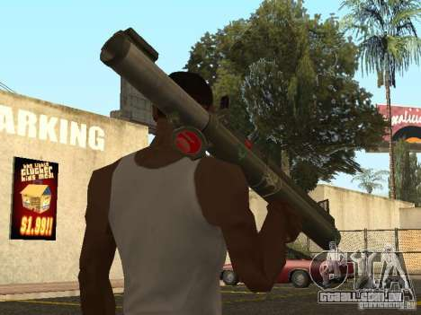 LAW Rocket launcher para GTA San Andreas segunda tela