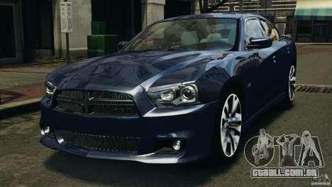 Dodge Charger SRT8 2012 v2.0 para GTA 4