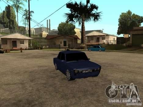 VAZ 2106 Coupe para GTA San Andreas traseira esquerda vista