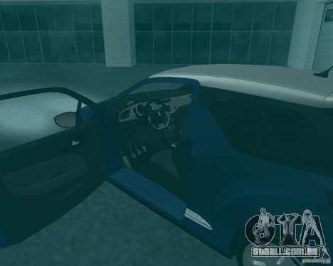 Citroen DS3 2011 para GTA San Andreas vista direita