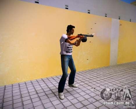 PPSH-41 para GTA Vice City segunda tela