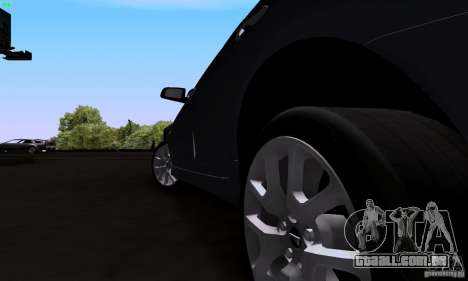 Pontiac G8 GXP para GTA San Andreas vista traseira