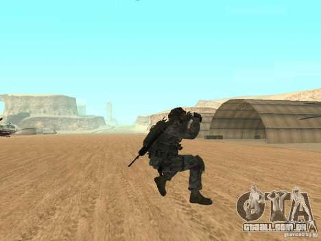 Animations v1.0 para GTA San Andreas por diante tela