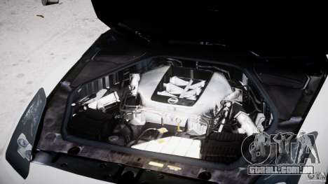 Nissan Skyline GT-R R35 para GTA 4 vista direita