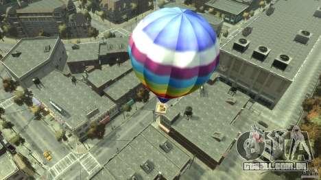Balloon Tours option 7 para GTA 4 traseira esquerda vista