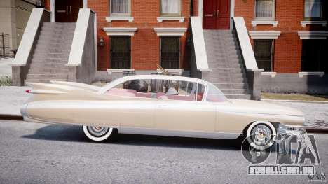 Cadillac Eldorado 1959 (Lowered) para GTA 4 vista interior
