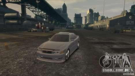 Toyota Chaser 2.5 Tourer V para GTA 4 vista direita