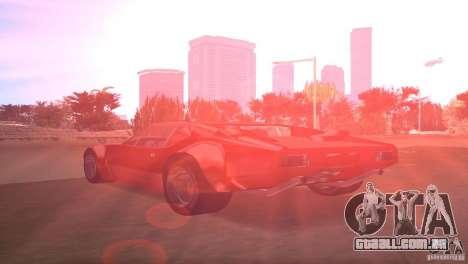 De Tomaso Pantera para GTA Vice City deixou vista