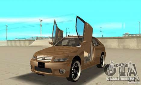 Lexus IS300 2005 para GTA San Andreas vista interior
