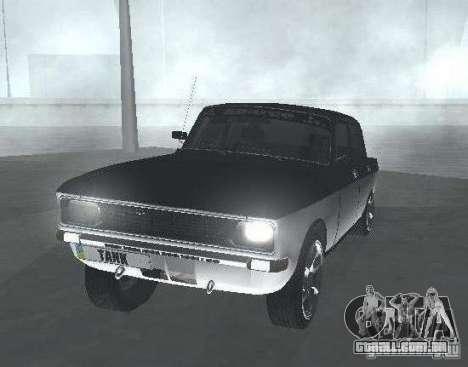 AZLK Moskvich 2140 luz Tuning para GTA San Andreas