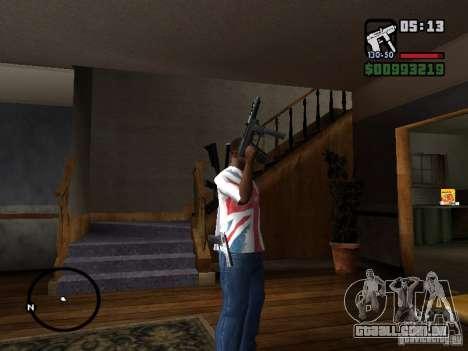 Tec9 HD para GTA San Andreas