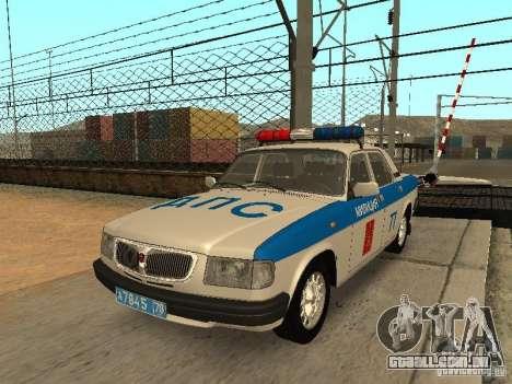 GAZ 3110 polícia para GTA San Andreas