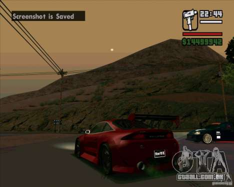 Mitsubishi Eclipse GS-T para GTA San Andreas vista direita