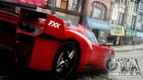Ferrari FXX Evoluzione para GTA 4 vista direita