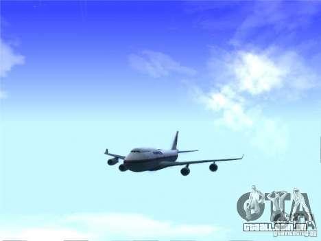 Boeing 747-400 Malaysia Airlines para GTA San Andreas
