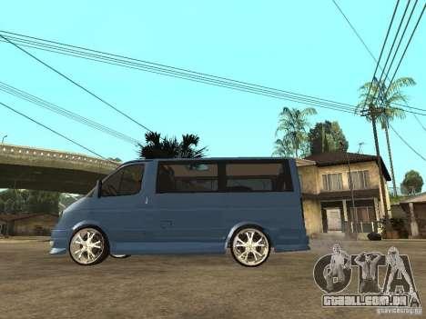 Gaz-2217-Barguzin Sable para GTA San Andreas esquerda vista