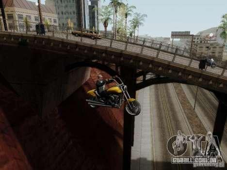Vice City Freeway para GTA San Andreas vista interior