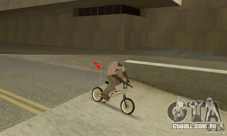 Novo BMX para GTA San Andreas vista traseira
