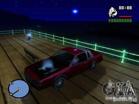 Timecyc BETA 2.0 para GTA San Andreas por diante tela