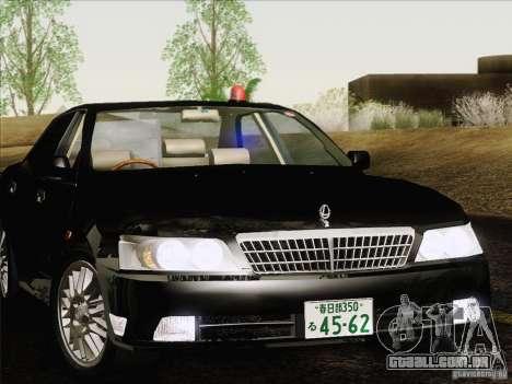 Nissan Laurel GC35 Kouki Unmarked Police Car para GTA San Andreas vista traseira