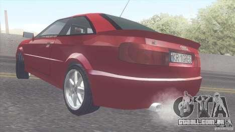Audi S2 para GTA San Andreas vista direita