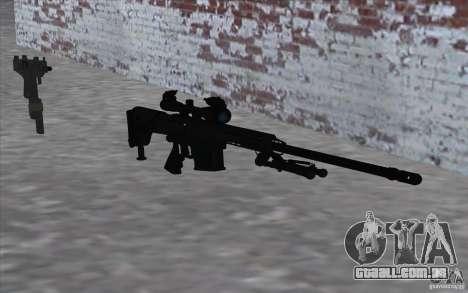 M98B para GTA San Andreas terceira tela