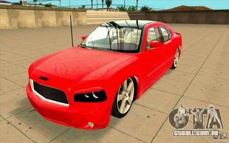 Dodge Charger RT 2010 para GTA San Andreas