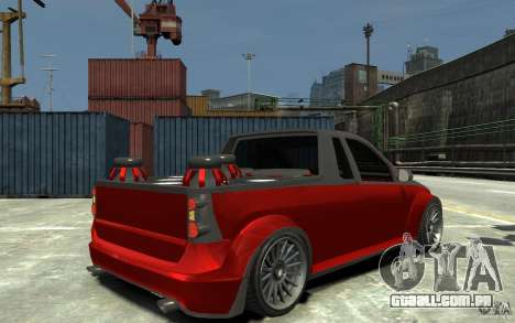 Dacia Pick-up Tuning para GTA 4 vista direita