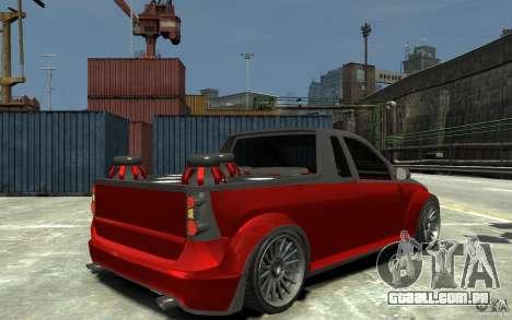 Dacia Pick-up Tuning para GTA 4 vista direita