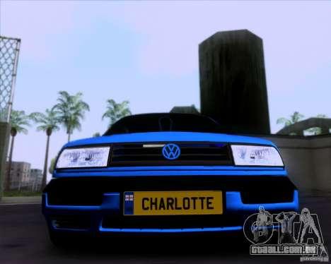 Volkswagen Golf III para GTA San Andreas esquerda vista