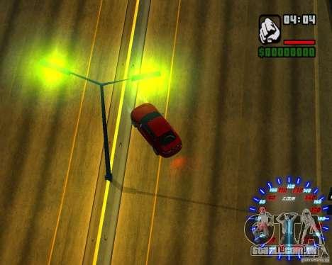 Novos efeitos para GTA San Andreas oitavo tela
