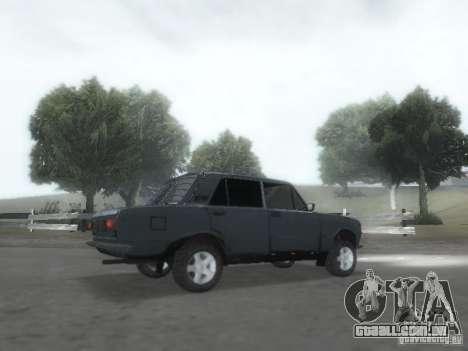 VAZ 2101 para GTA San Andreas vista inferior